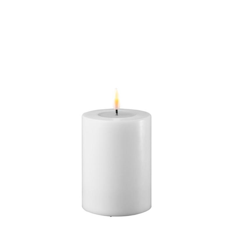 DELUXE HOMEART, LED Utendørs Kubbelys 7,5*10cm Hvit