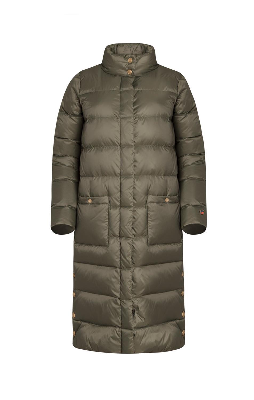 BUSNEL FANNY Down Coat Khaki