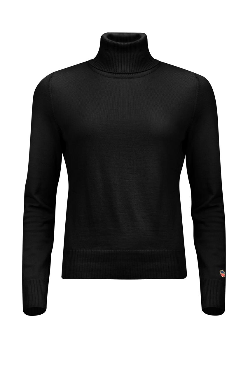 BUSNEL ALICE Rollerneck Sweater Black