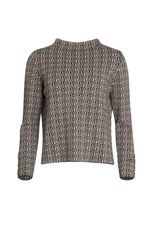 BUSNEL GABY Bis Sweater Black/Sand