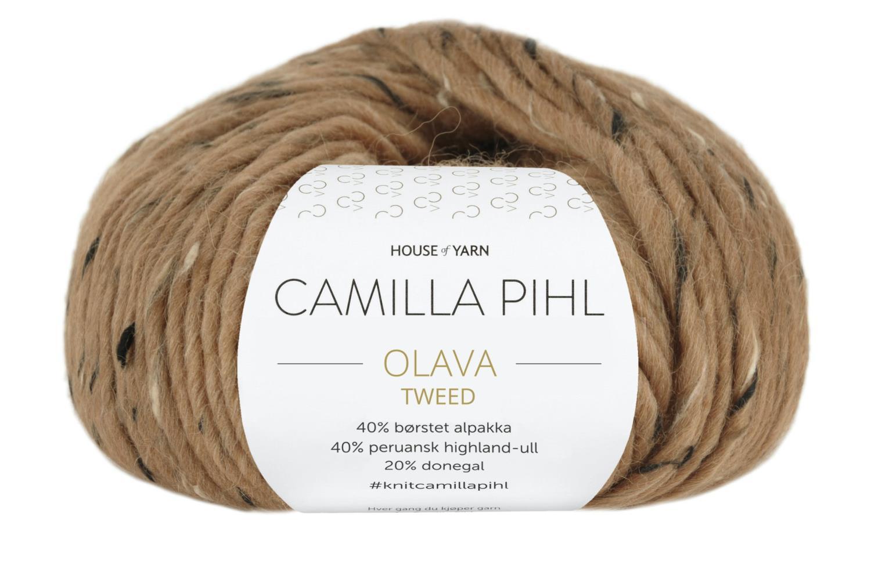 Camilla Pihl Garn - OLAVA TWEED 981-Toffee Tweed