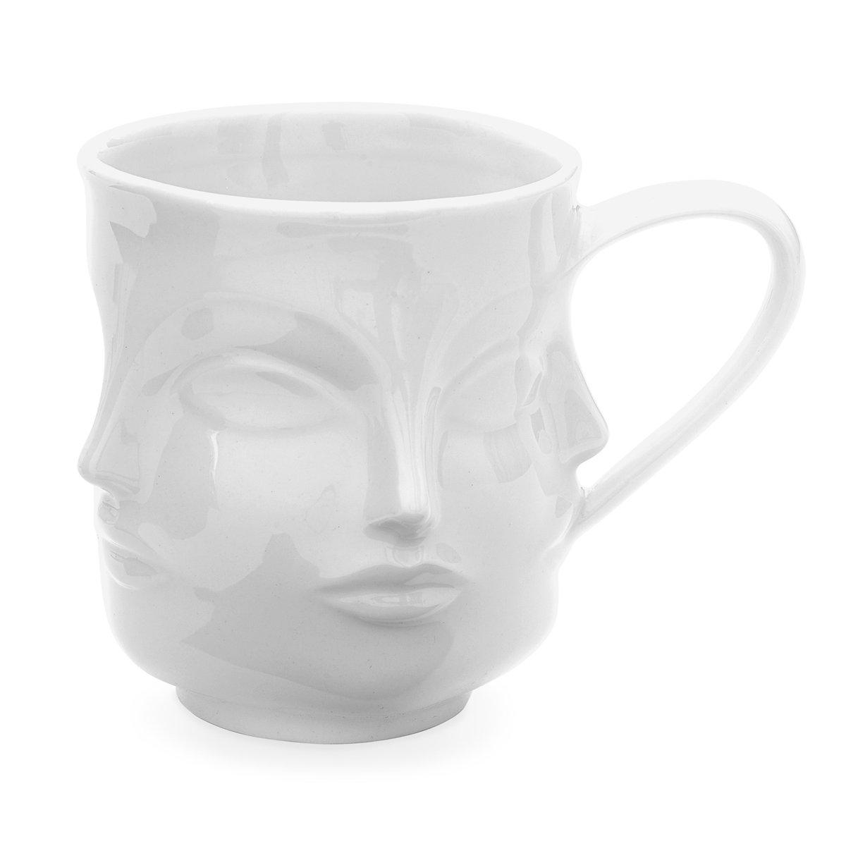 JONATHAN ADLER Dora Maar Mug - White