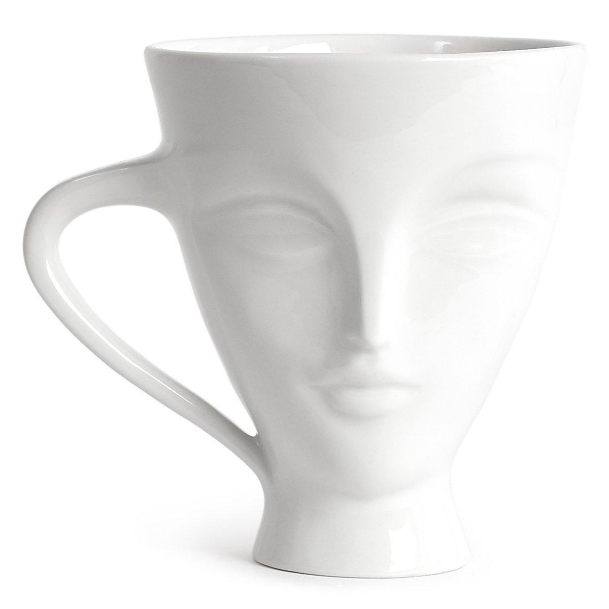 JONATHAN ADLER Giuliette Mug - White
