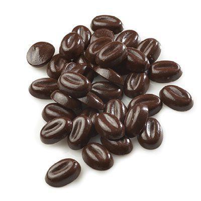 Kaffebønner, sjokolade