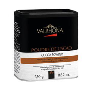 Kakaopulver boks 250g Valrhona