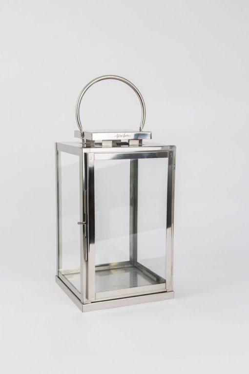HALVOR BAKKE rustfri lanterne 36cm stål