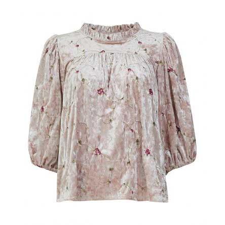 LINE OF OSLO bluse Joplin rosa