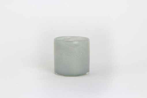 LAMA telysholder Ø10x10 cm blågrå