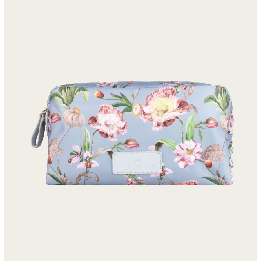BY MALINA sminkepung Travel large french rose sky blue