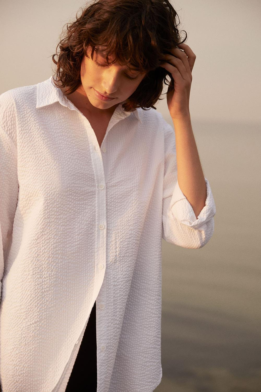 PART TWO skjorte Ishma bright white