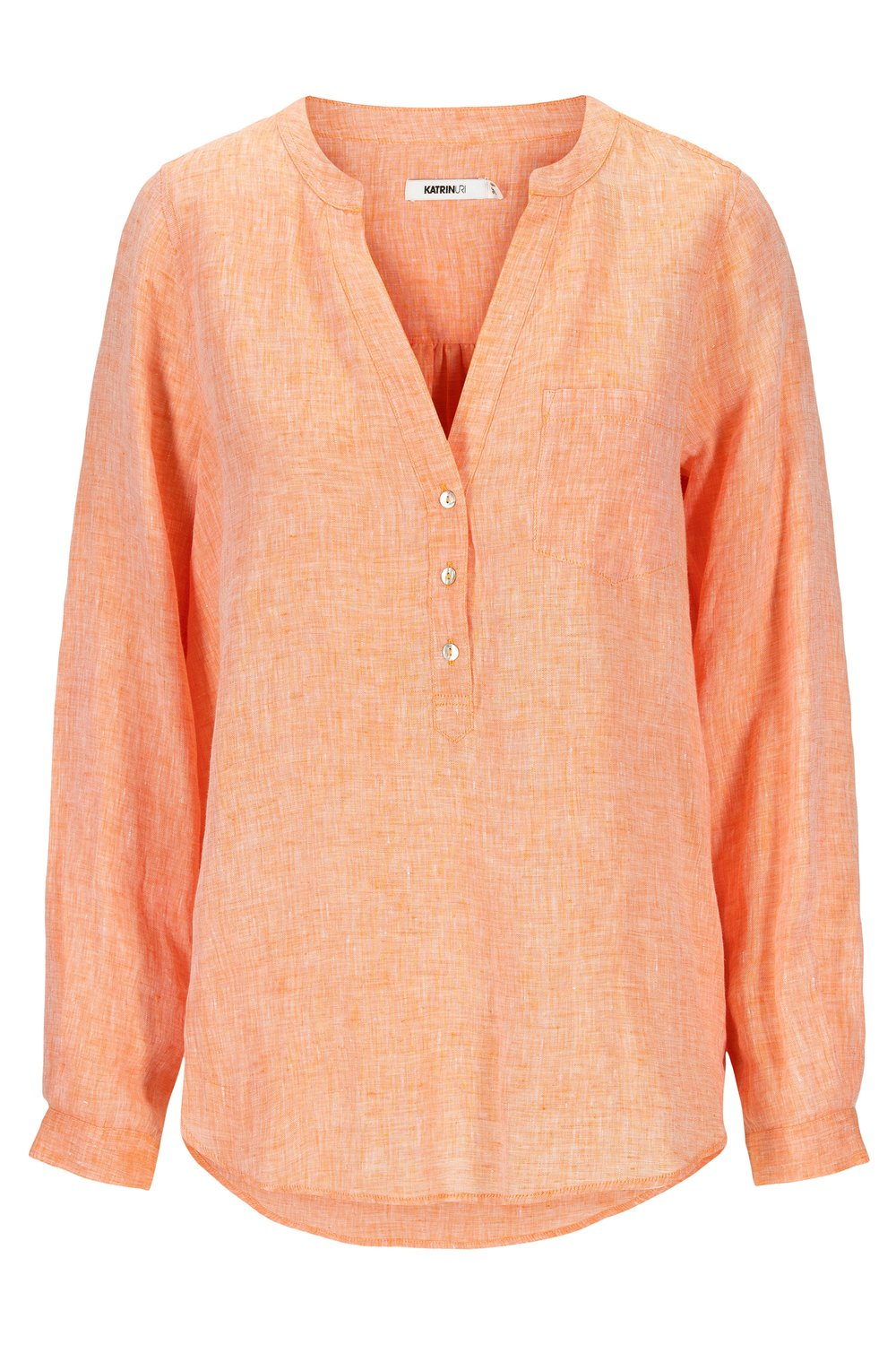 KATRIN URI skjorte Carmel Serena light orange