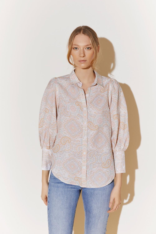 BY MALINA skjorte Eliza pastel paisley