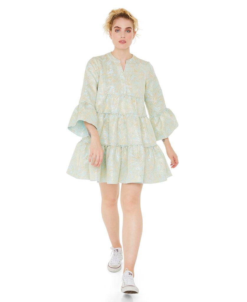 LINE OF OSLO kjole Daisy Brocade