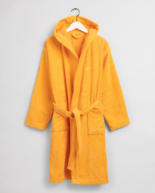 GANT Vacay robe/badekåpe mandarin orange