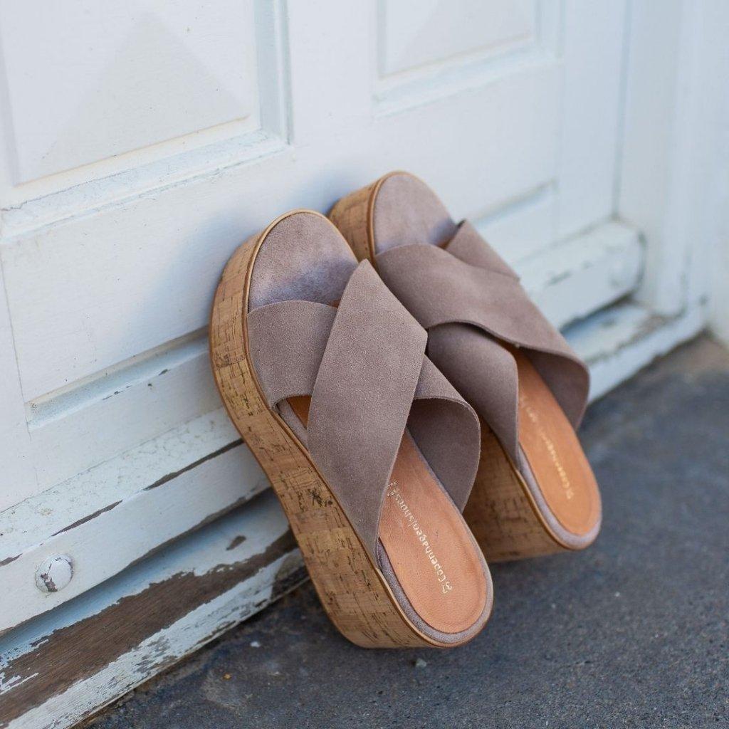 COPENHAGEN SHOES sko For A Reason Beige