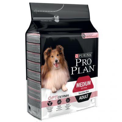 Pro Plan Optiderma medium Adult 3 kg
