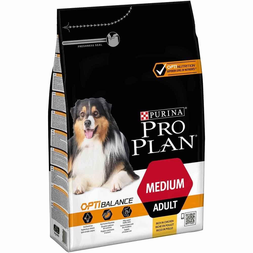 Pro Plan Optibalance medium Adult 3kg