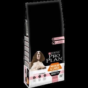 Pro Plan Optiderma medium/large adult  7+ 14kg