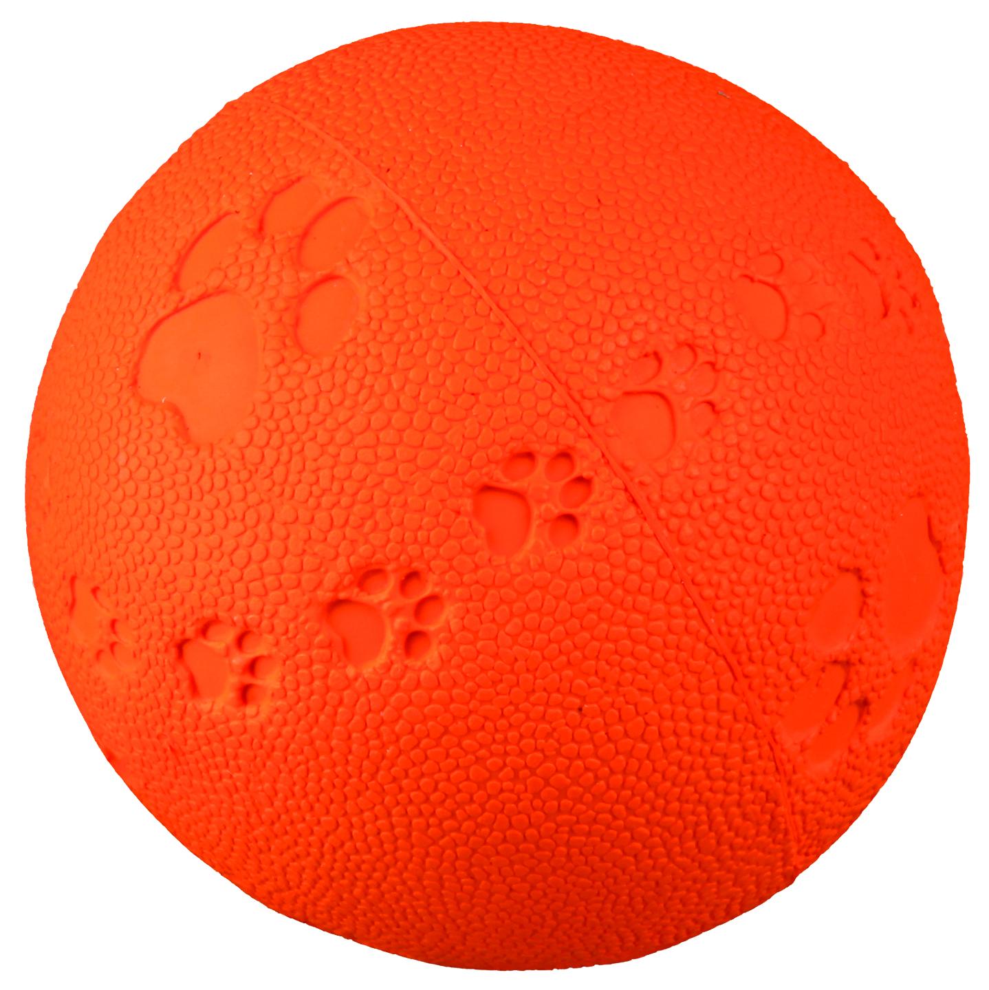 Hundeleke Latexball m/pip medium