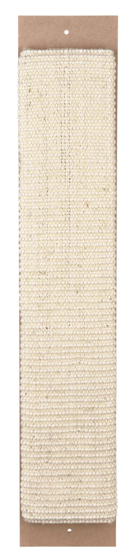 Klorebrett sisal smal m/catnip beige 60x