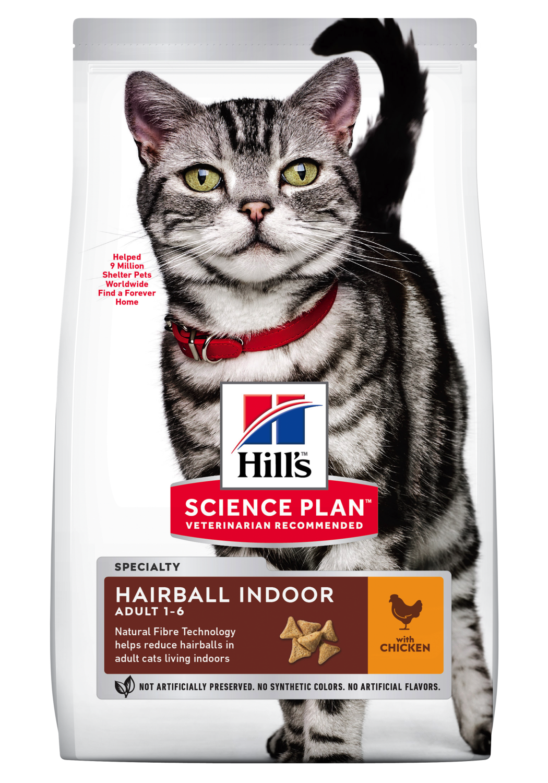 Hill's feline Adult Hairball indoor 7kg