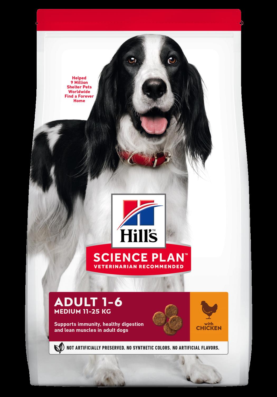 Hill's Canine Adult Medium Chicken 2,5kg