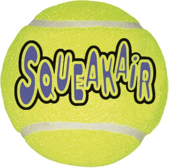 Air Kong Squeaker tennisball 3pk M