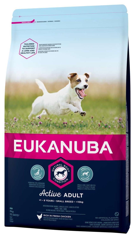 Eukanuba Active Adult Small 3 kg