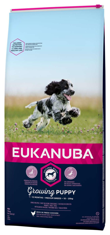 Eukanuba Growing Puppy Medium 15kg