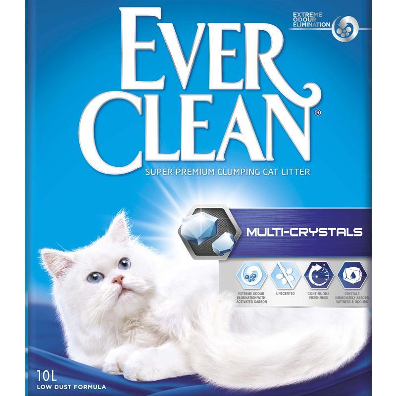 Ever clean kattesand multi-crystal 10L