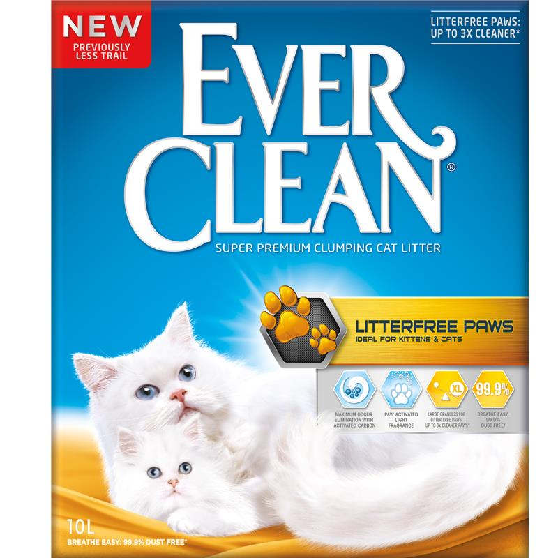 Ever clean kattesand Litter free paws 10L