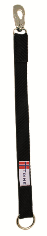 Kobbelforlenger m/strikk 40cm sort