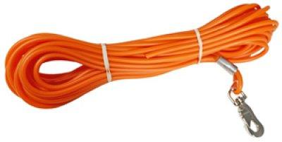 Alac Sporline gummi orange 4mm tynn