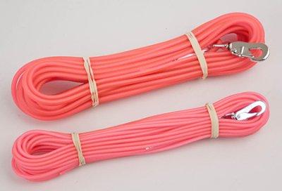 Sporline gummi rosa 6mm 15mm