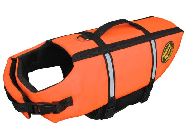 Globus Flytevest orange L 40cm