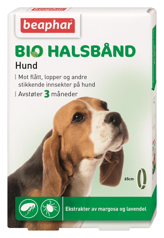 Biohalsbånd Hund max 65cm