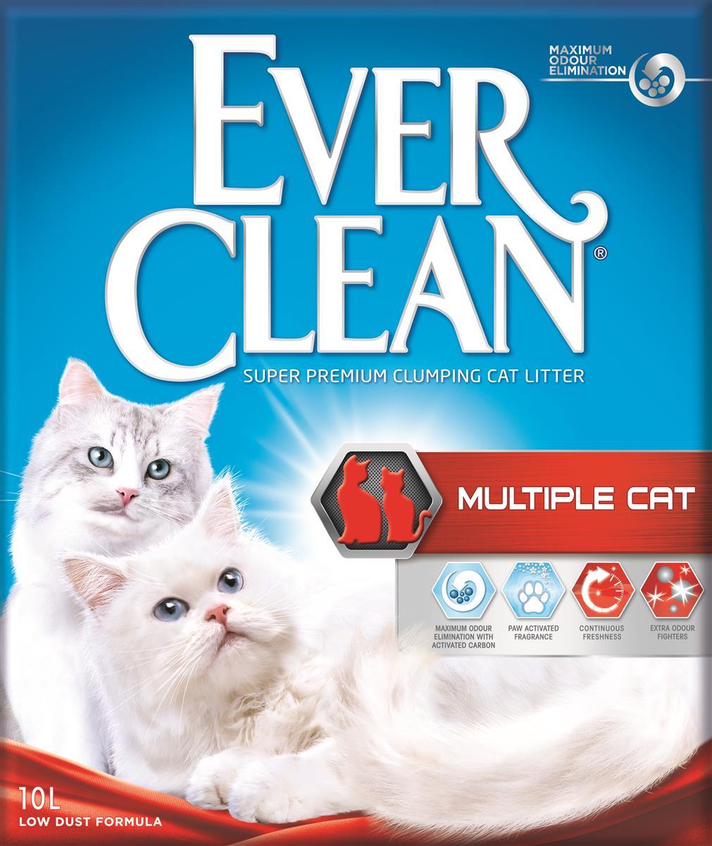 Ever clean Kattesand Multiple Cat 10L