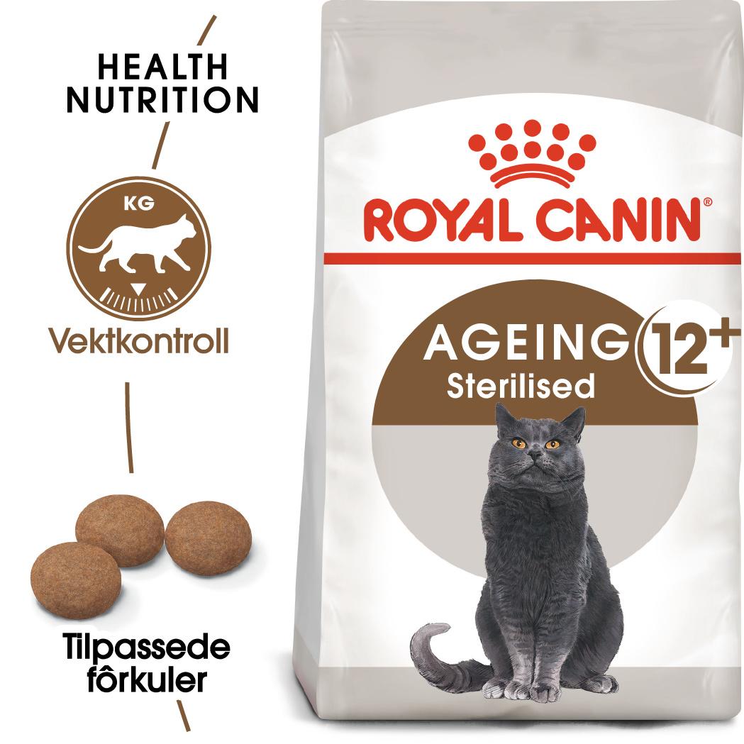 Royal Canin Ageing Sterilised 12+ 4kg