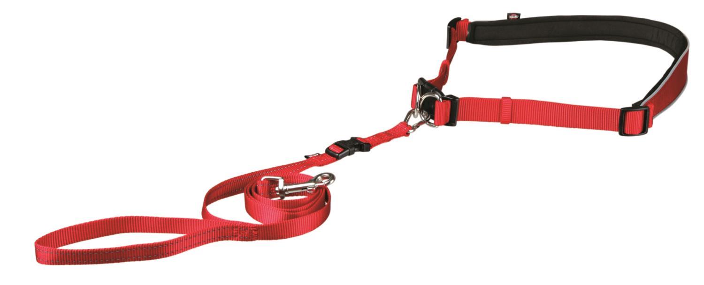 Joggeline rød belte 60-130cm S-M
