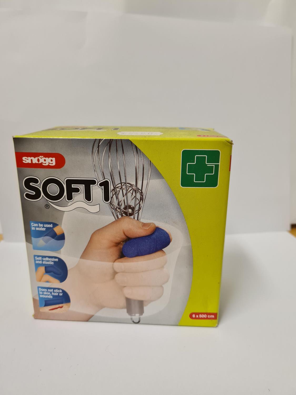 Plaster refill blå soft finger F-H-3-5