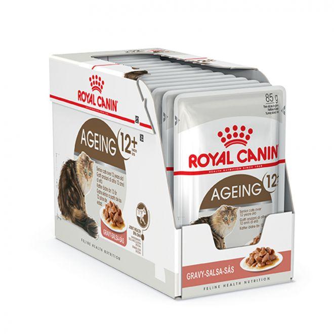 Royal Canin Ageing +12 våtfôr eske 12x85g