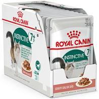 Royal Canin Instinctive +7 våtfôr eske 12x85g