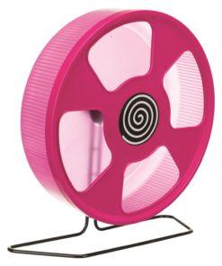 Hamsterhjul plast m/stativ 28cm