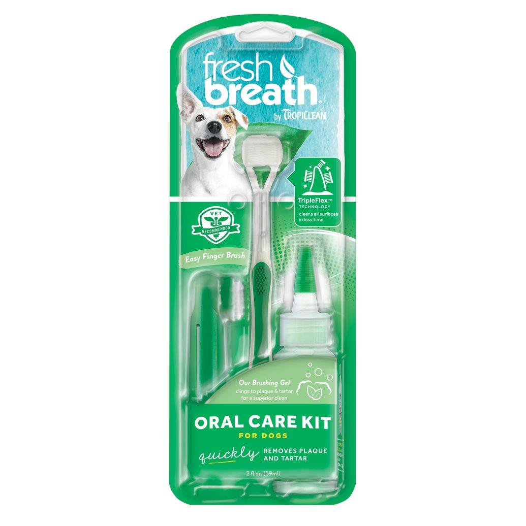 Tannbørstesett små hunder