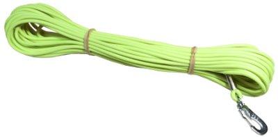 Sporline Gummi Limegrønn 4mm 15m