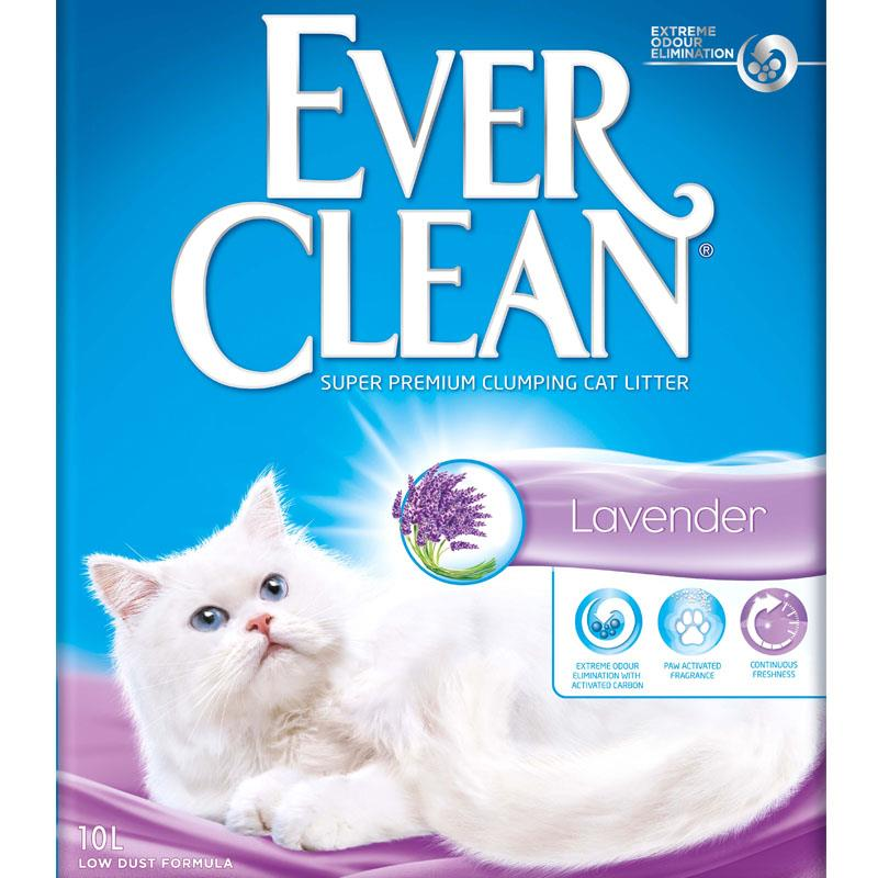 Ever clean kattesand Lavendel 10L