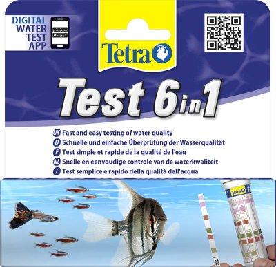 Tetra Test 6 in 1