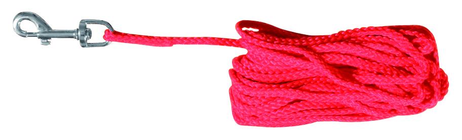 Trixie Sporline 10 m 5mm Rød