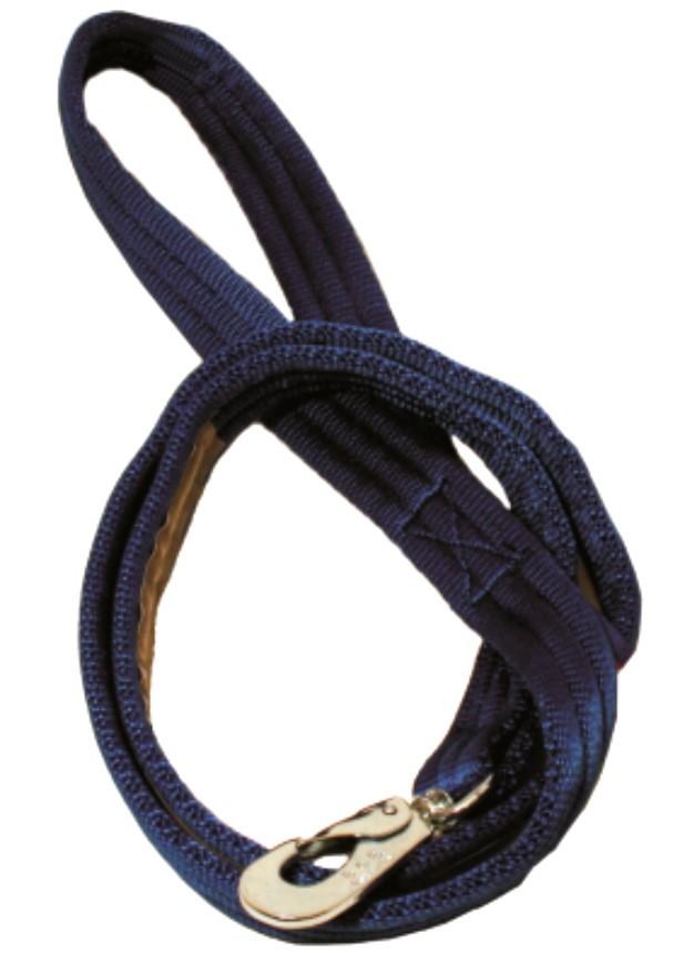 Kobbel i webb m/refleks blå 180cm 25mm