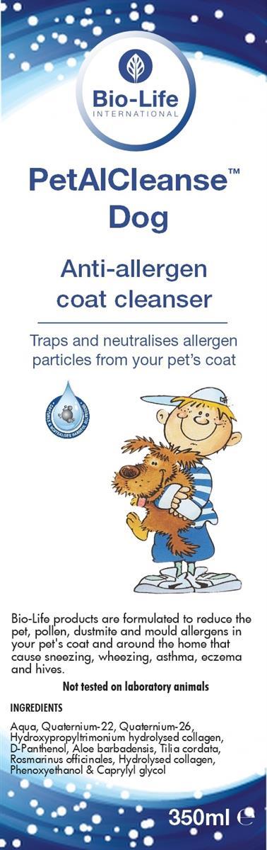 Petal Cleanse D Hund (allergihemmende)